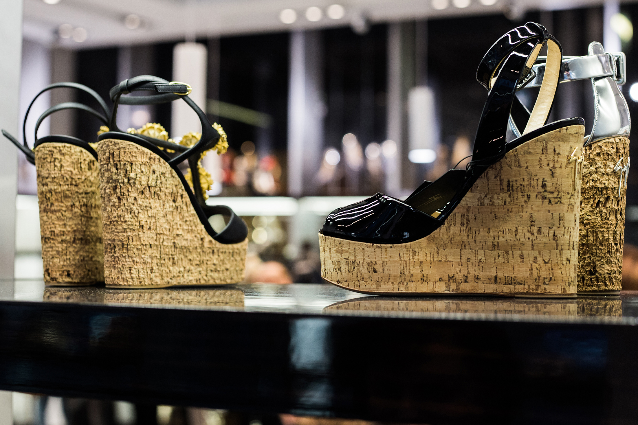 Poland's biggest luxury footwear boutique 'Vitkac shoes' opening event report.